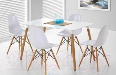 Обеденный стол Седия Testa Rett (белый) - в интерьере