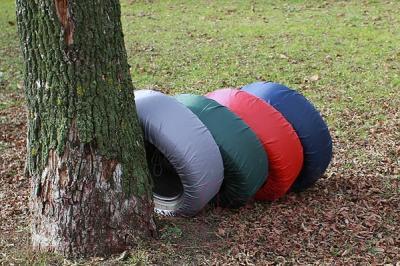 Чехол для колес ТрендБай Коверин 210 (зеленый)