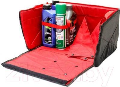 Складной ящик-органайзер ТрендБай Фолдин 1063 (красный) - вариант заполнения