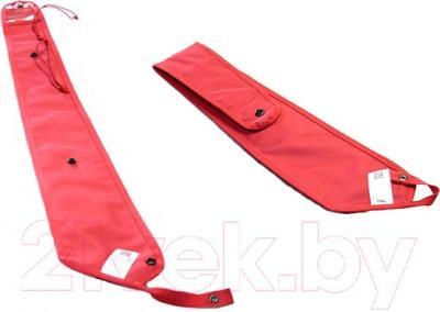 Чехол для зонта автомобильный ТрендБай Дрэйнин 1053 (красно-серый) - с обратной стороны