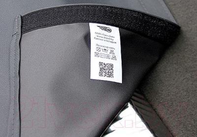 Накидка на задний бампер ТрендБай Ариэлин 1045 (серый) - крепление на липучку