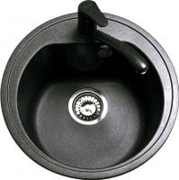 Мойка кухонная Polygran F-05 (черный) -
