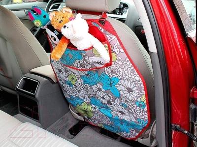 Накидка на автомобильное сиденье ТрендБай Лэйнин Тойз 1093 (снежинки)