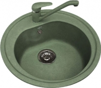 Мойка кухонная Polygran F-05 (зеленый) -