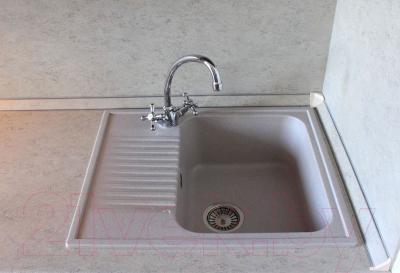 Мойка кухонная Polygran F-07 (серый)