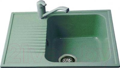 Мойка кухонная Polygran F-07 (зеленый)