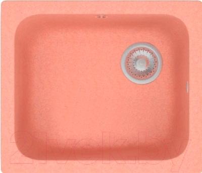 Мойка кухонная Polygran F-17 (розовый)