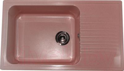 Мойка кухонная Polygran F-19 (розовый)
