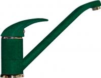 Смеситель Polygran Низкий (зеленый) -