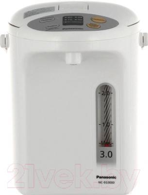 Термопот Panasonic NC-EG3000WTS - вид спереди