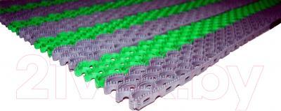 Грязезащитный коврик Примекс Ресталинг-14/Прималаст-10 490х780 (сталь/зеленый)