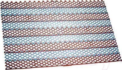 Грязезащитный коврик Примекс Ресталинг-14/Прималаст-10 490x780 (сталь/коричневый)