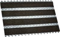Грязезащитный коврик Примекс Престиж-16 400x700 (сталь/светло-коричневый) -