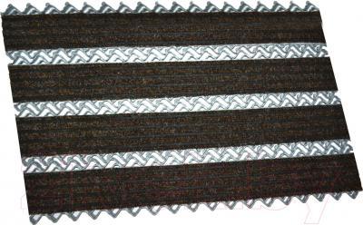 Грязезащитный коврик Примекс Престиж-16 400x700 (сталь/светло-коричневый)