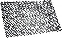 Грязезащитный коврик Примекс Волна-12 400x690 (черный) -