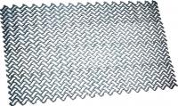 Грязезащитный коврик Примекс Волна-12 400x690 (сталь) -