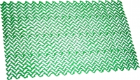 Грязезащитный коврик Примекс Волна-12 400x690 (зеленый) -