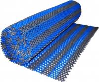 Грязезащитный коврик Примекс Ресталинг-14/Прималаст-10 1000x6000 (сталь/синий) -