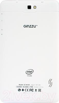 Планшет Ginzzu GT-W153 (белый)