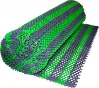 Грязезащитный коврик Примекс Ресталинг-14/Прималаст-10 1000x6000 (сталь/зеленый) -
