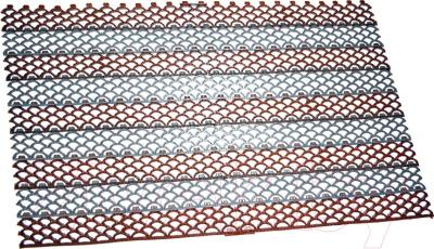 Грязезащитный коврик Примекс Ресталинг-14/Прималаст-10 1000x6000 (сталь/коричневый)