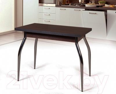 Обеденный стол Мебель-Класс Рио-1 (венге) - в интерьере