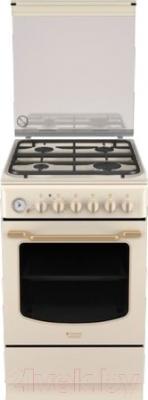 Кухонная плита Hotpoint HT5GM4AF C (OW) EA