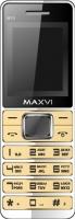 Мобильный телефон Maxvi M10 (золото) -