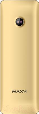 Мобильный телефон Maxvi M10 (золото)