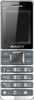 Мобильный телефон Maxvi M10 (маренго) -