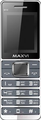 Мобильный телефон Maxvi M10 (маренго)