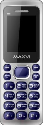 Мобильный телефон Maxvi M11 (синий)