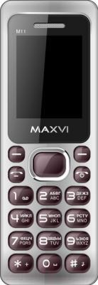 Мобильный телефон Maxvi M11 (коричневый)