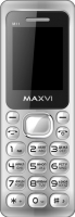Мобильный телефон Maxvi M11 (серебристый) -