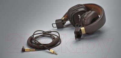 Наушники-гарнитура Marshall Major 2 (коричневый)
