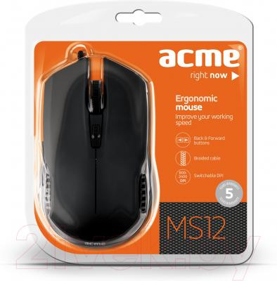 Мышь Acme MS12 Ergonomic Mouse (874585)