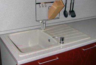 Мойка кухонная Polygran F-12 (белый)