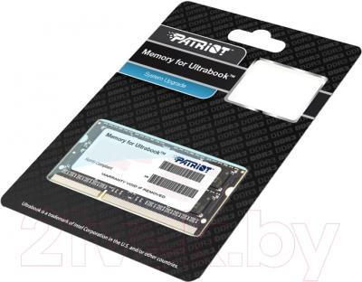 Оперативная память DDR3 Patriot PSD34G1600L81S