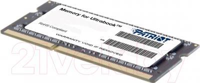 Оперативная память DDR3 Patriot PSD38G1600L2S