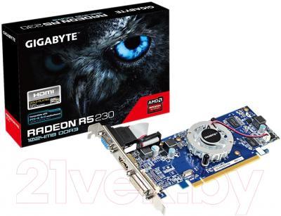 Видеокарта  Gigabyte R5 230 1Gb DDR3 64bit (GV-R523D3-1GL)