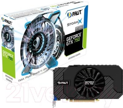 Видеокарта  Palit GTX750 STORMX 2Gb DDR5 (NE5X750THD41-2065F)