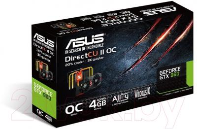 Видеокарта  Asus GeForce GTX960 4Gb DDR5 (GTX960-DC2OC-4GD5-BLACK)