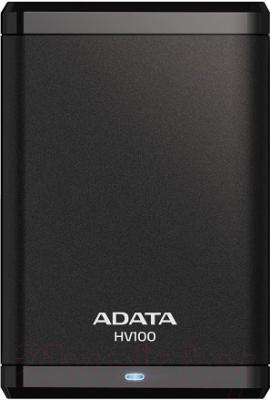 Внешний жесткий диск A-data HV100 2TB Black (AHV100-2TU3-CBK)