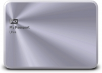 Внешний жесткий диск Western Digital My Passport Ultra Metal Silver 1TB (WDBTYH0010BSL-EESN) -