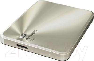 Внешний жесткий диск Western Digital My Passport Ultra Metal Gold 2TB (WDBEZW0020BCG-EESN)