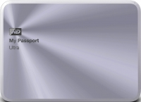 Внешний жесткий диск Western Digital My Passport Ultra Metal Silver 2TB (WDBEZW0020BSL-EESN) -