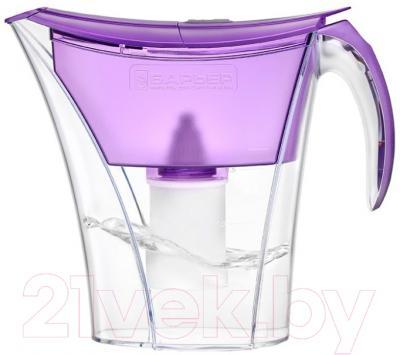 Фильтр питьевой воды БАРЬЕР Смарт (фиолетовый)