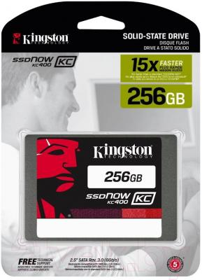 SSD диск Kingston KC400 256GB (SKC400S37/256G)