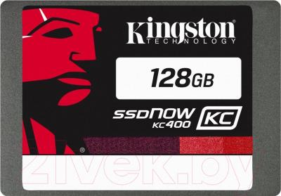 SSD диск Kingston KC400 128GB (SKC400S3B7A/128G)