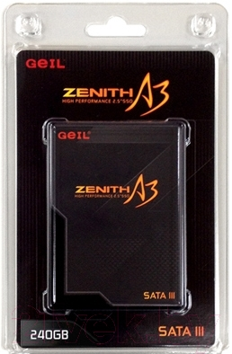 SSD диск GeIL Zenith A3 240GB (GZ25A3-240G)